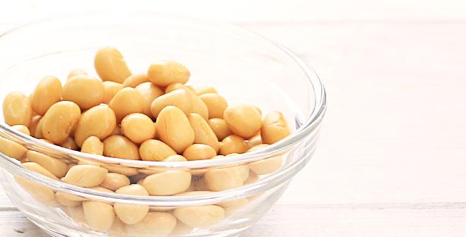 「丸ごと」食べられる蒸し大豆で、毎日続けるメタボ対策